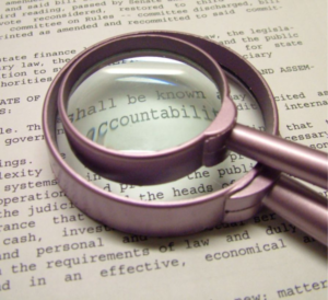Accountability and ethics reporting systems