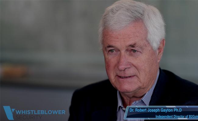video testimonial Robert Joseph Gayton